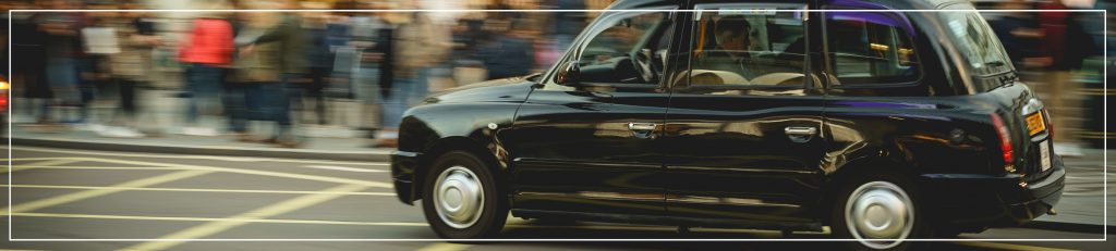 Accidents involving Taxis